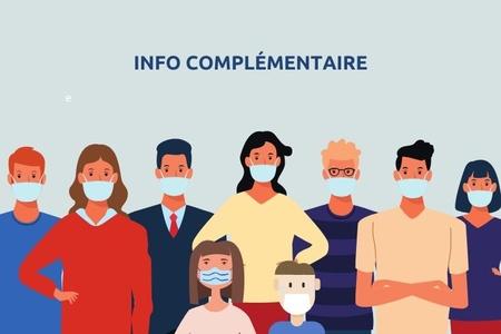 Masques : info complémentaire