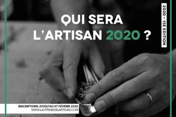 "Concours : ""La vitrine de l'artisan 2020"""