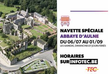 TEC : Navette spéciale vers l'Abbaye d'Aulne  !